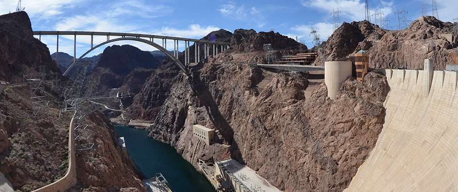 Hoover Dam Nevada USA
